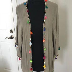 Caravan kimono cardigan